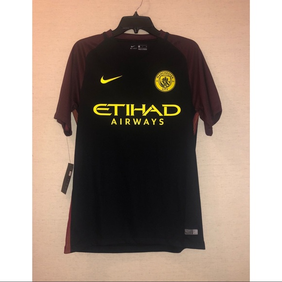 hot sale online adcf9 be336 Nike 2016-17 Manchester City Away Jersey NWT